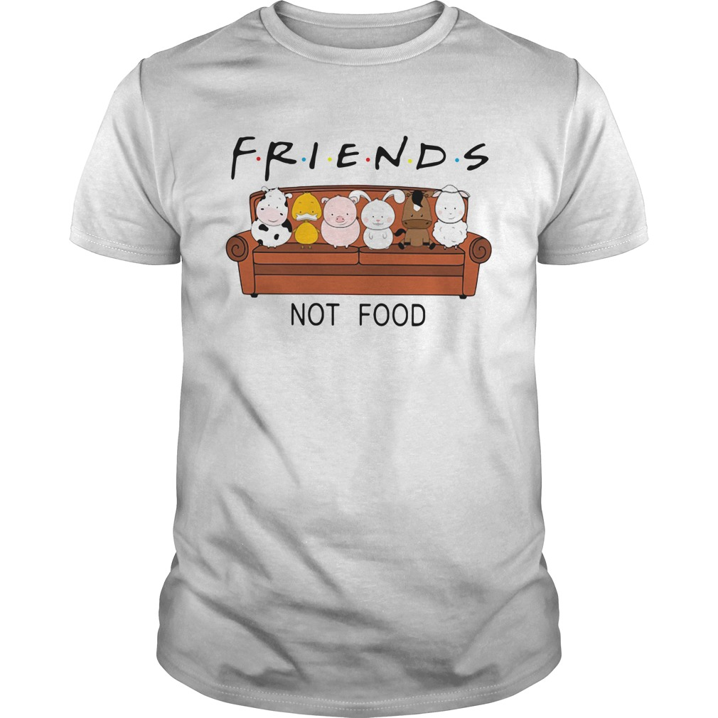 F.r.i.e.n.d.s not food Guys Shirt