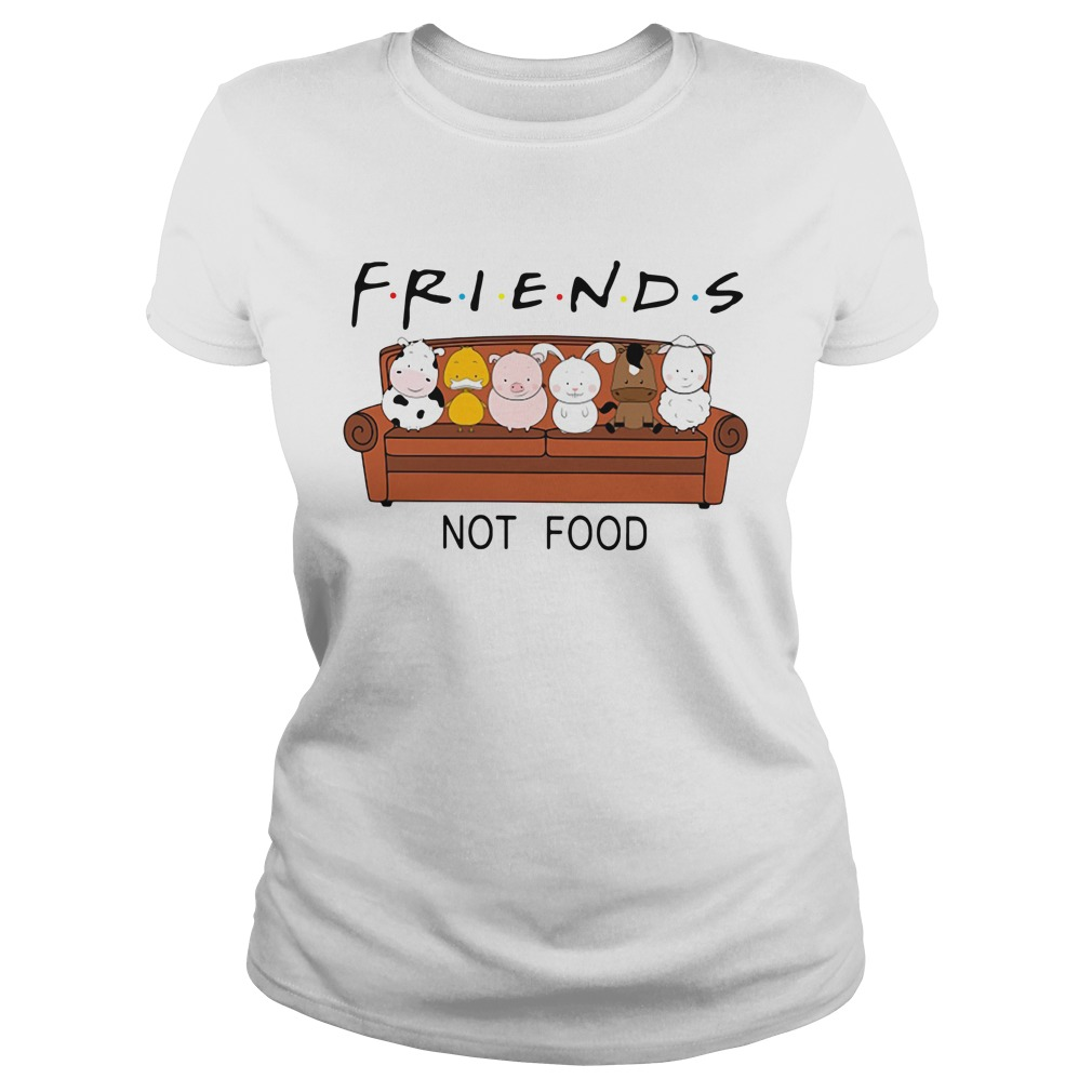 F.r.i.e.n.d.s not food Ladies Tee
