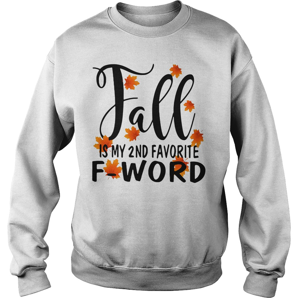Fall is my 2nd favorite f-word Sweater