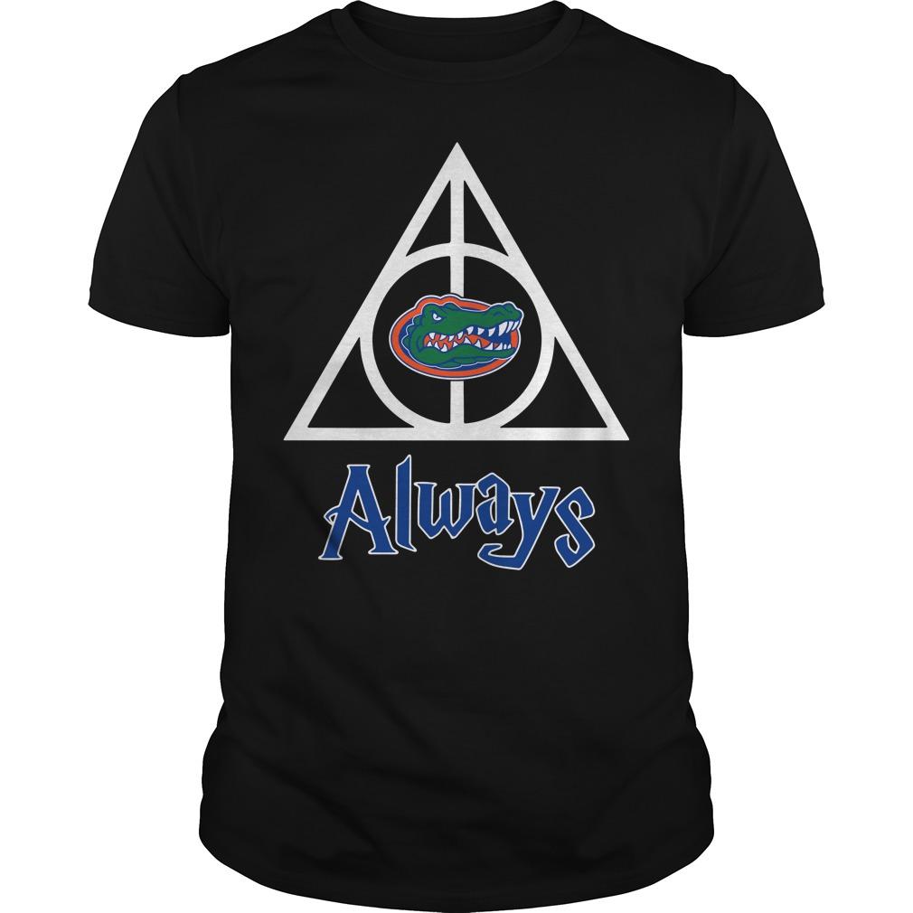 Florida Gators Deathly Hallows always Harry Potter Guys Shirt