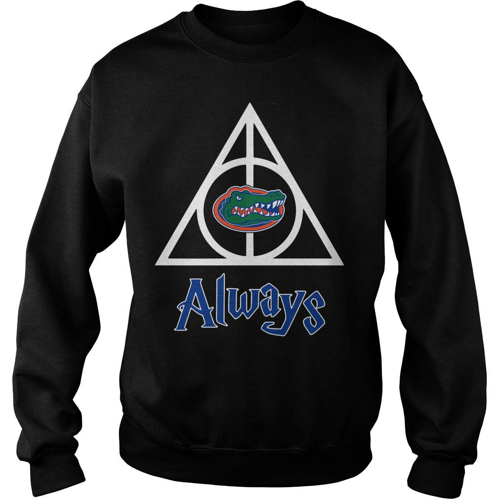 Florida Gators Deathly Hallows always Harry Potter Sweater