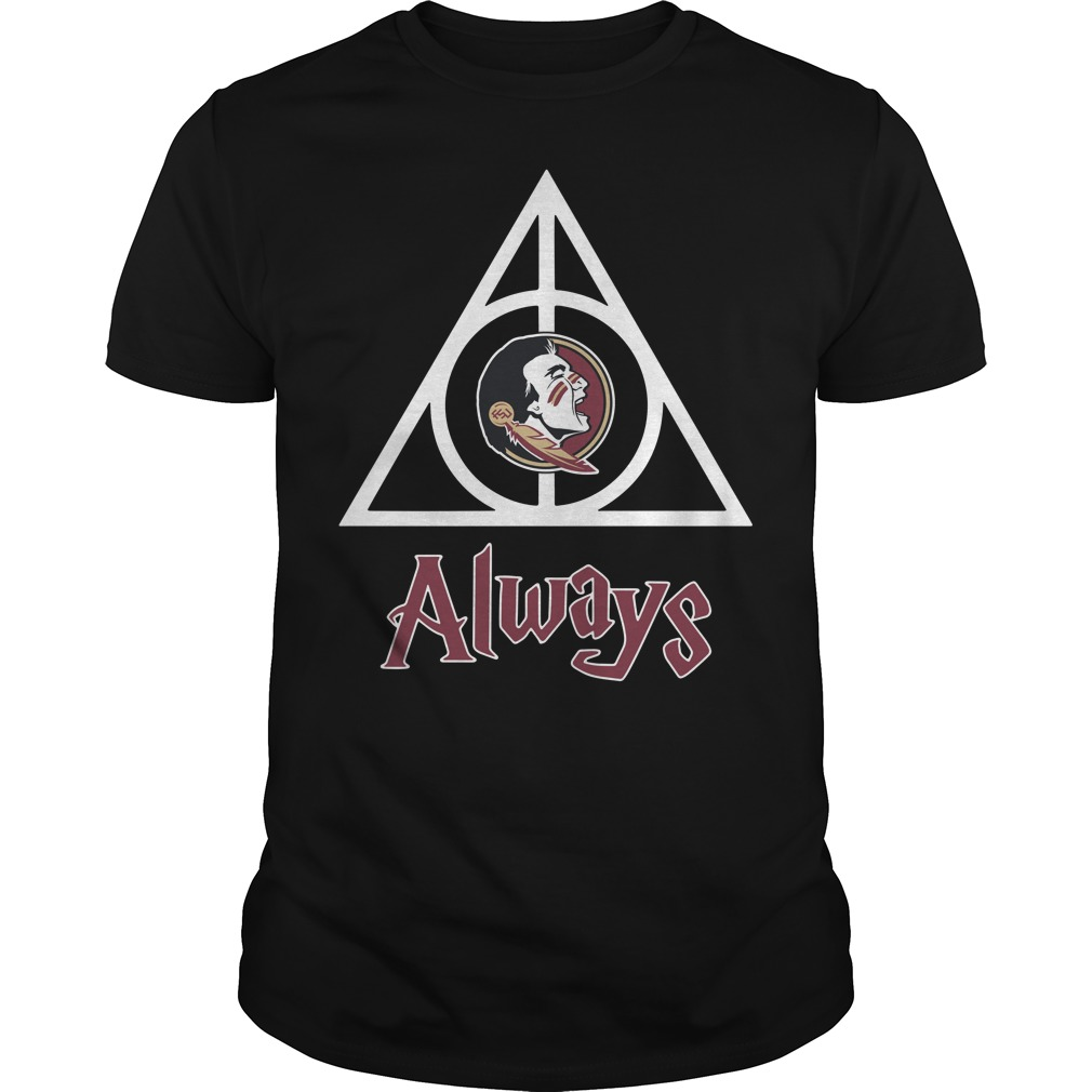 Florida State Seminoles Deathly Hallows always Harry Potter Guys Shirt