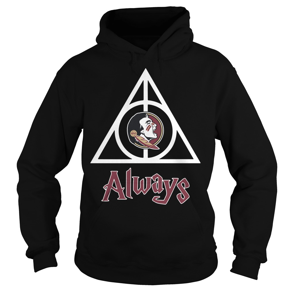 Florida State Seminoles Deathly Hallows always Harry Potter Hoodie