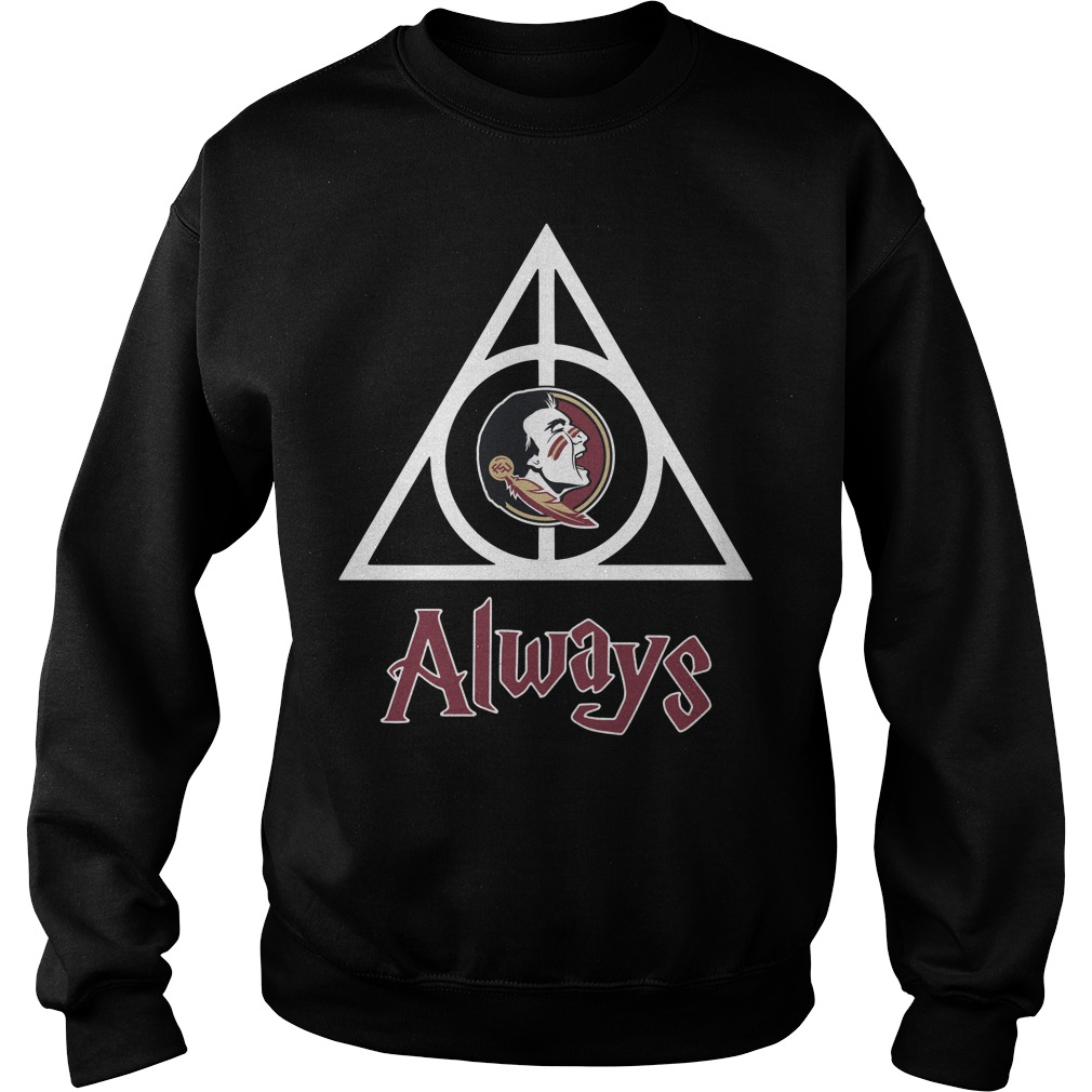 Florida State Seminoles Deathly Hallows always Harry Potter Sweater