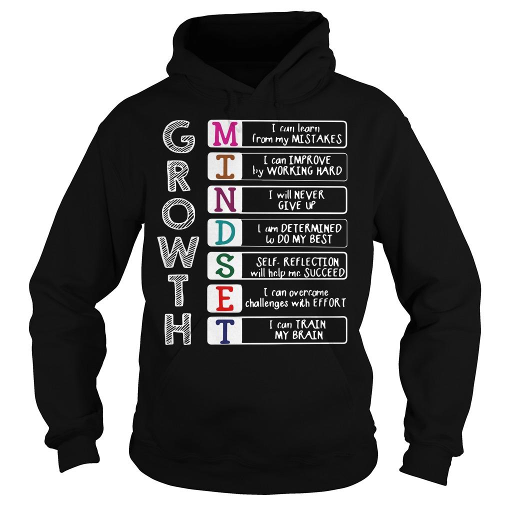 Growth mindest Hoodie