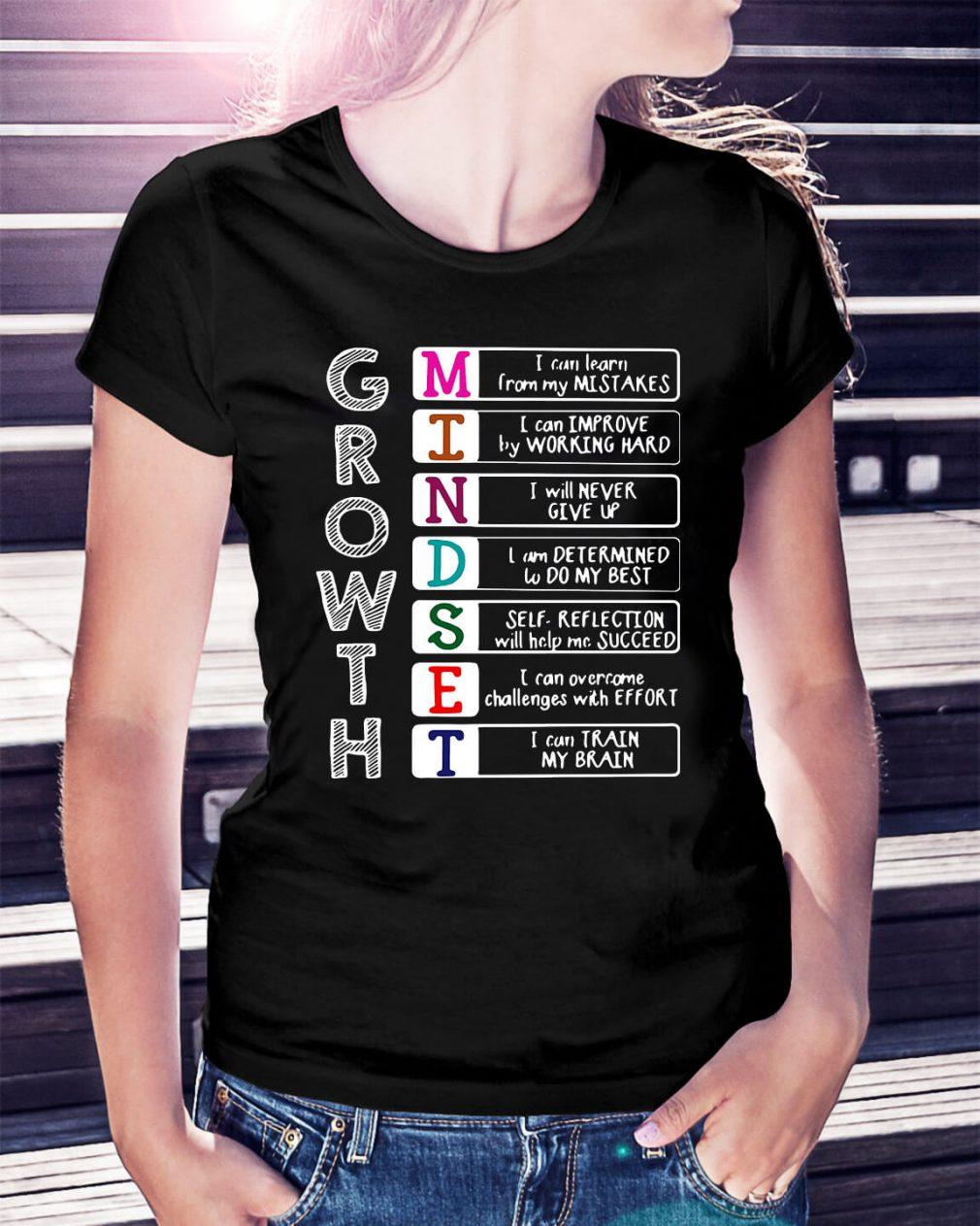 Growth mindest shirt