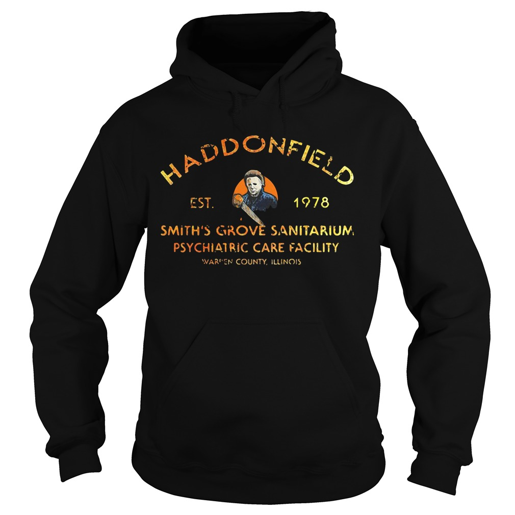 Haddonfield EST 1978 Smith's Grove Sanitarium Hoodie