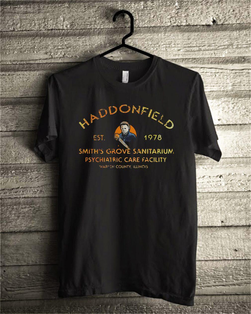 Haddonfield EST 1978 Smith's Grove Sanitarium shirt
