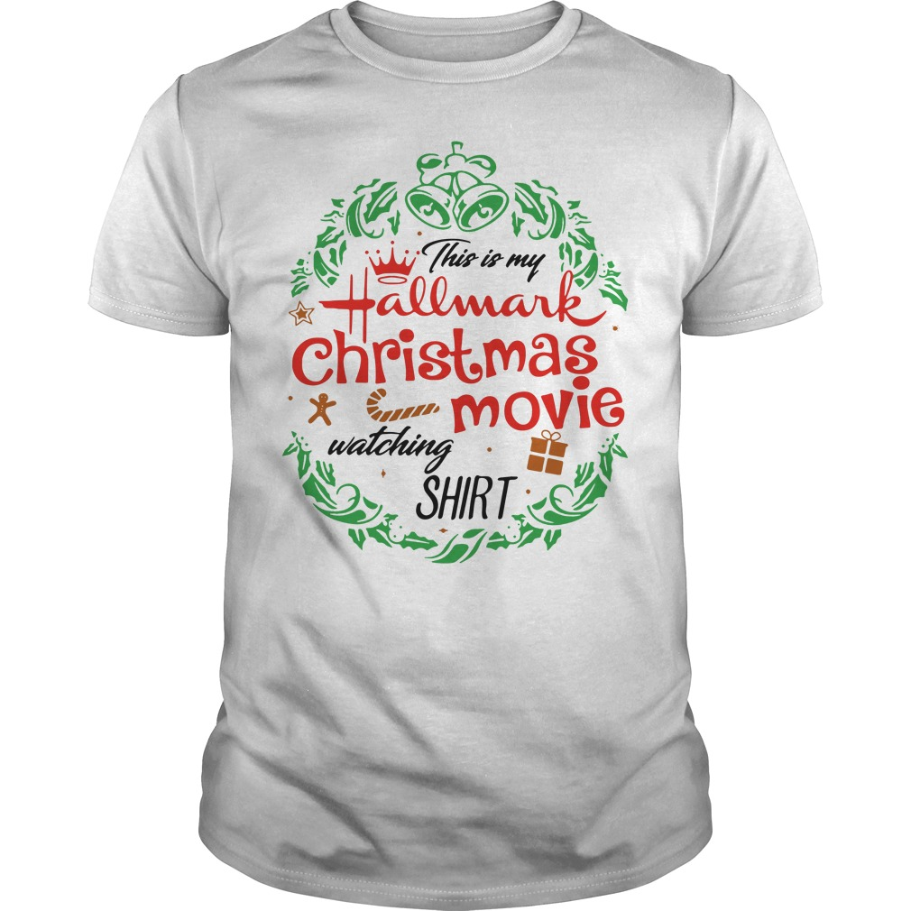 This is my Hallmark Christmas movie watching Guys Shirt