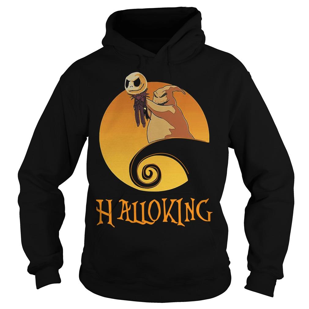 Halloking Halloween Jack Skellington Hoodie
