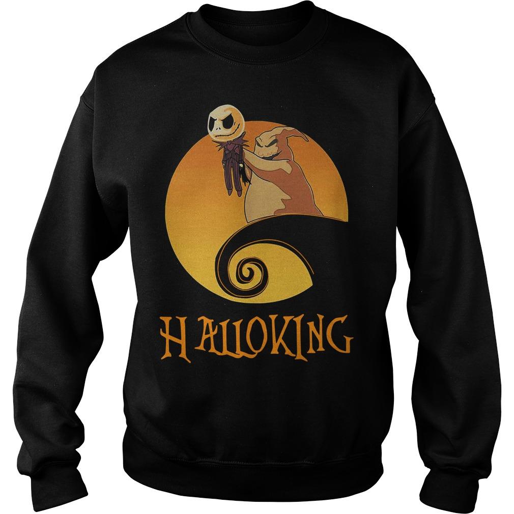 Halloking Halloween Jack Skellington Sweater
