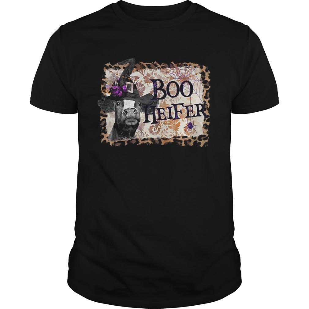 Halloween Boo Heifer Guys Shirt