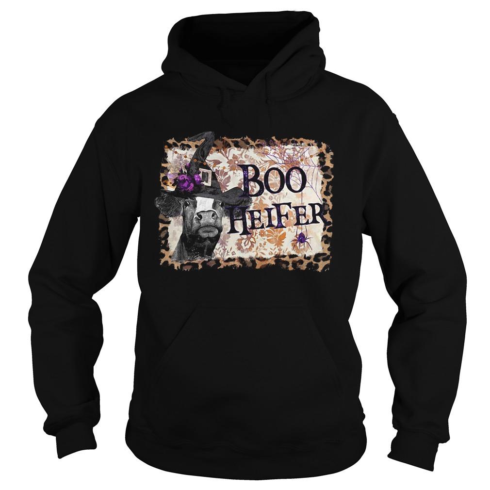 Halloween Boo Heifer Hoodie