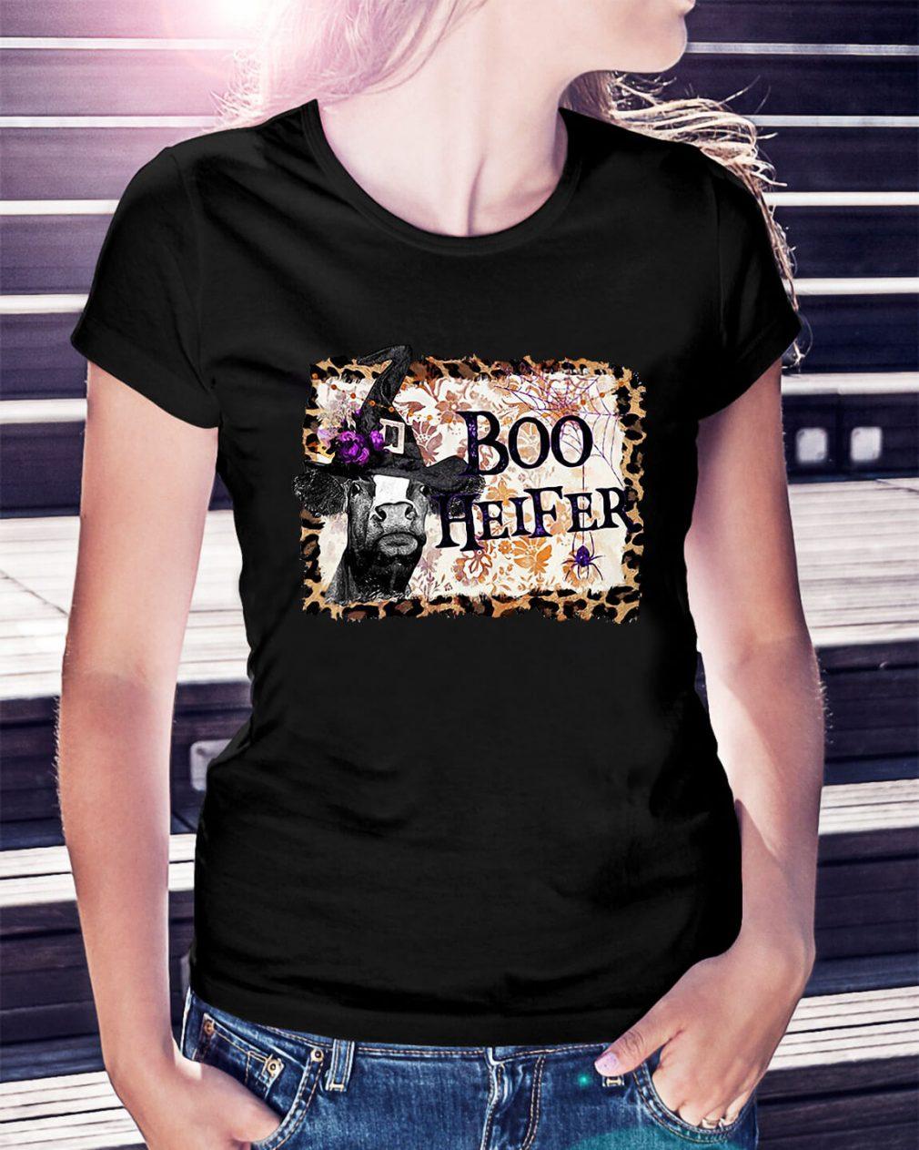 Halloween Boo Heifer shirt