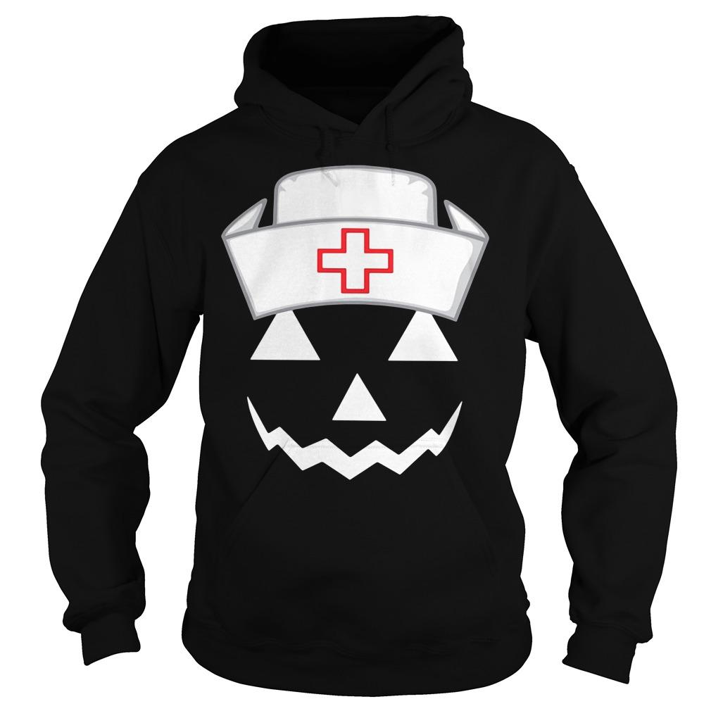 Halloween pumpkin nurse Hoodie
