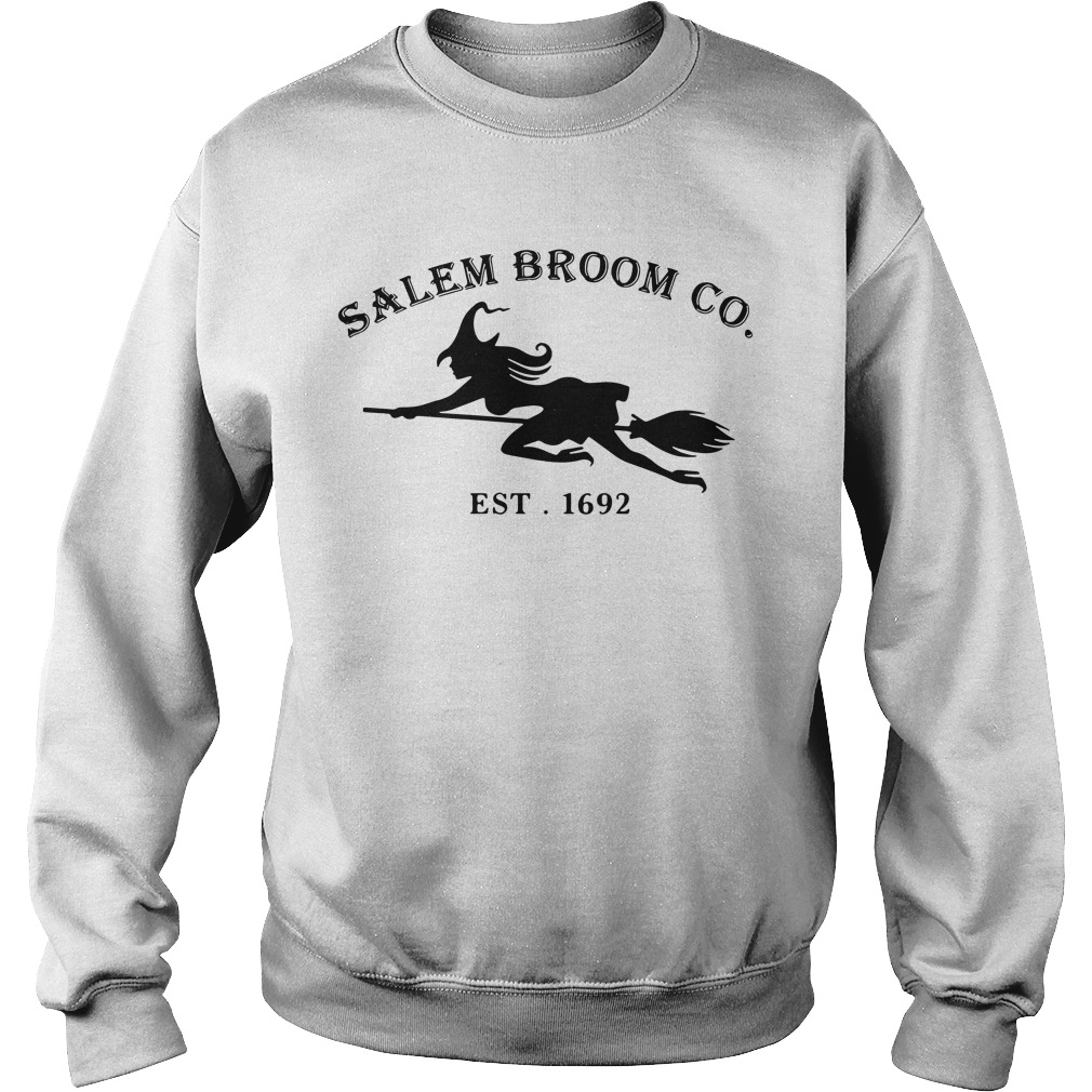 Halloween Salem broom co. EST. 1692 Sweater