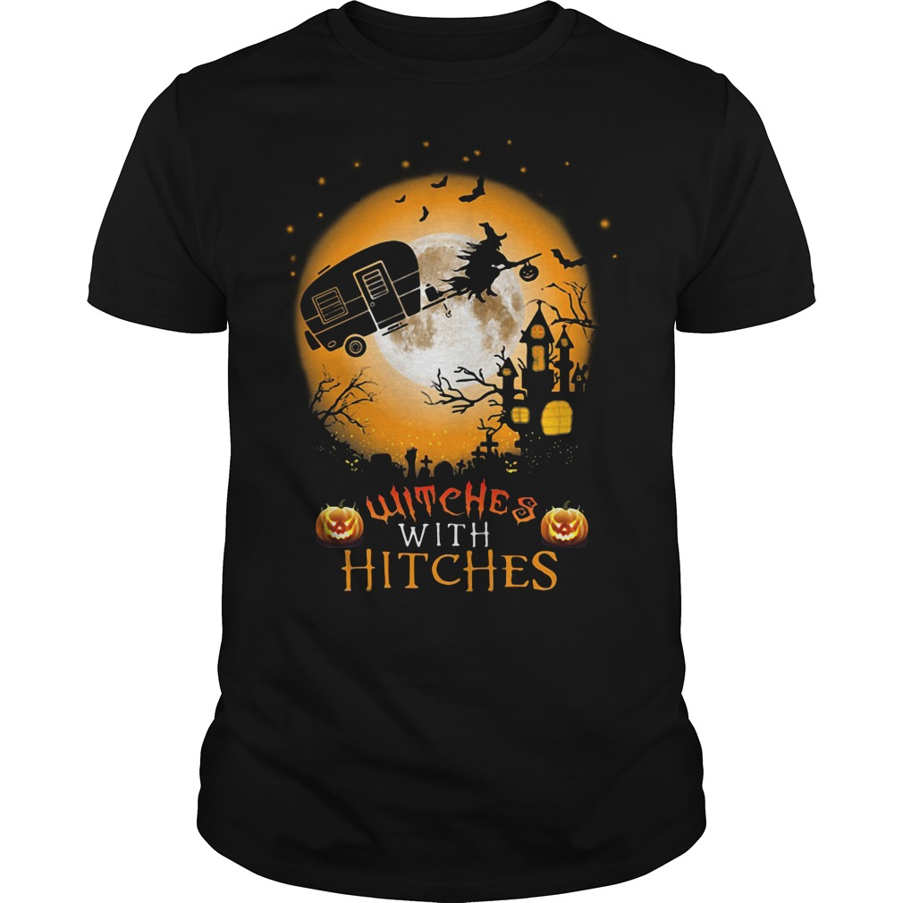 Halloween witches with hitches Guys Shirt
