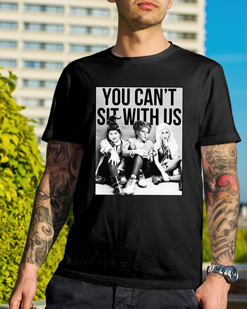 Hocus Pocus you can't sit with us Halloween shirt