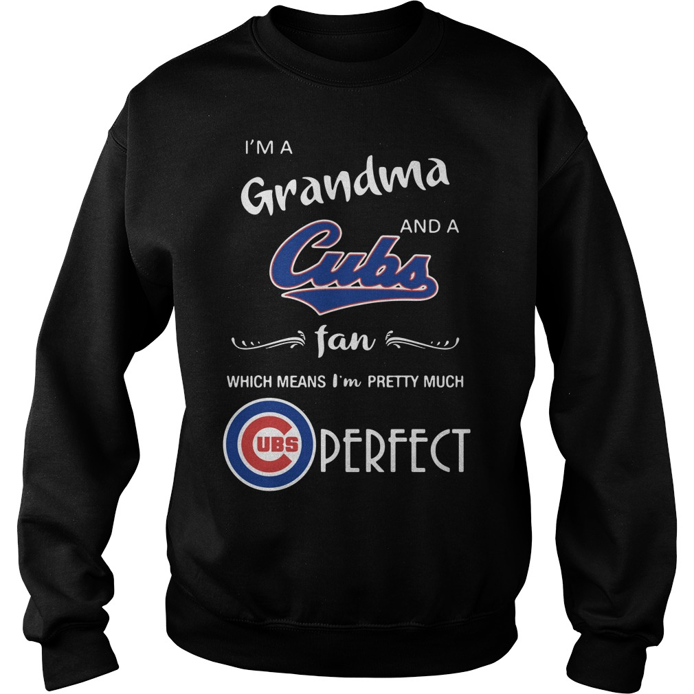 I'm a grandma and a Cubs fan which means I'm pretty much Sweater