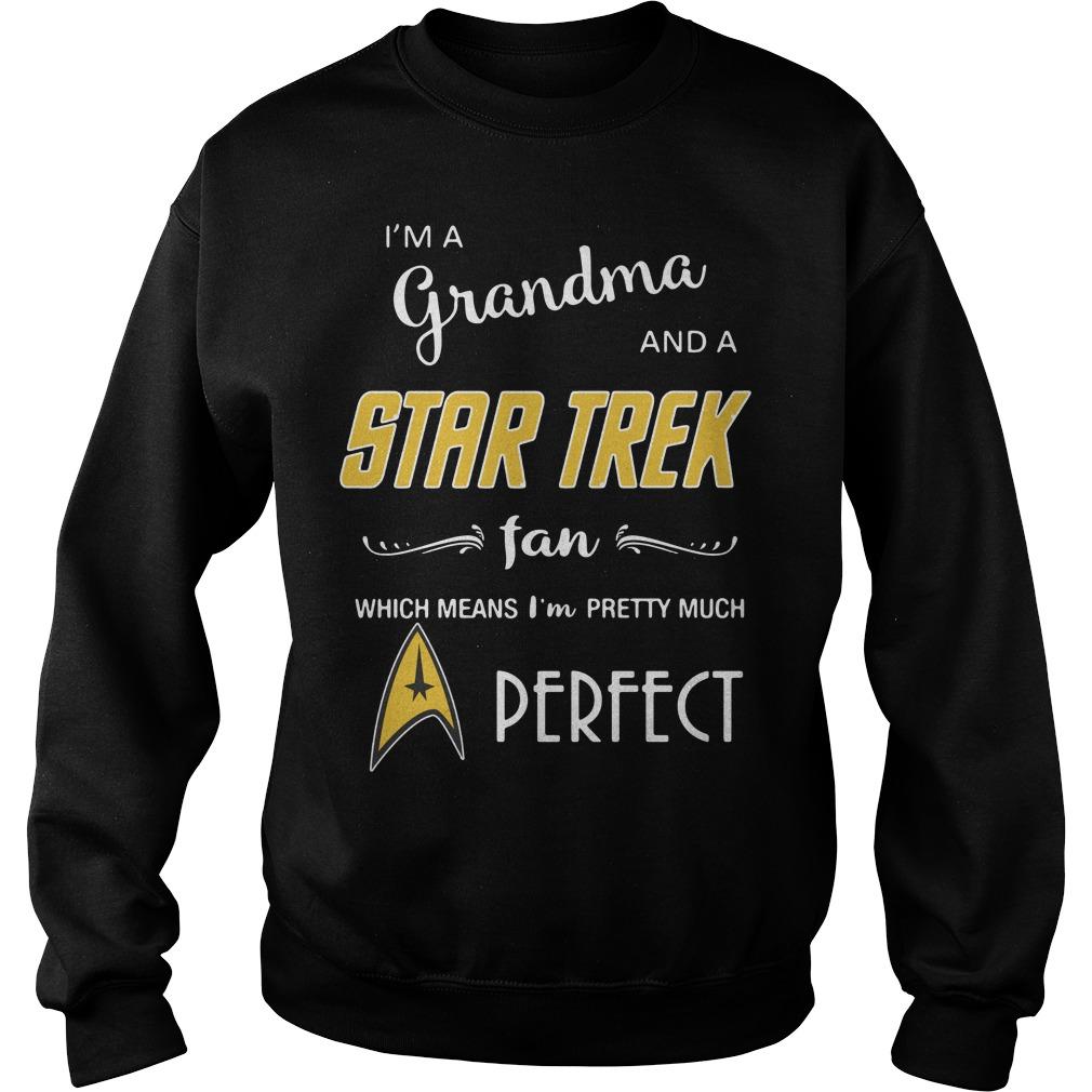 I'm a grandma and a Star Trek fan which means I'm pretty Sweater