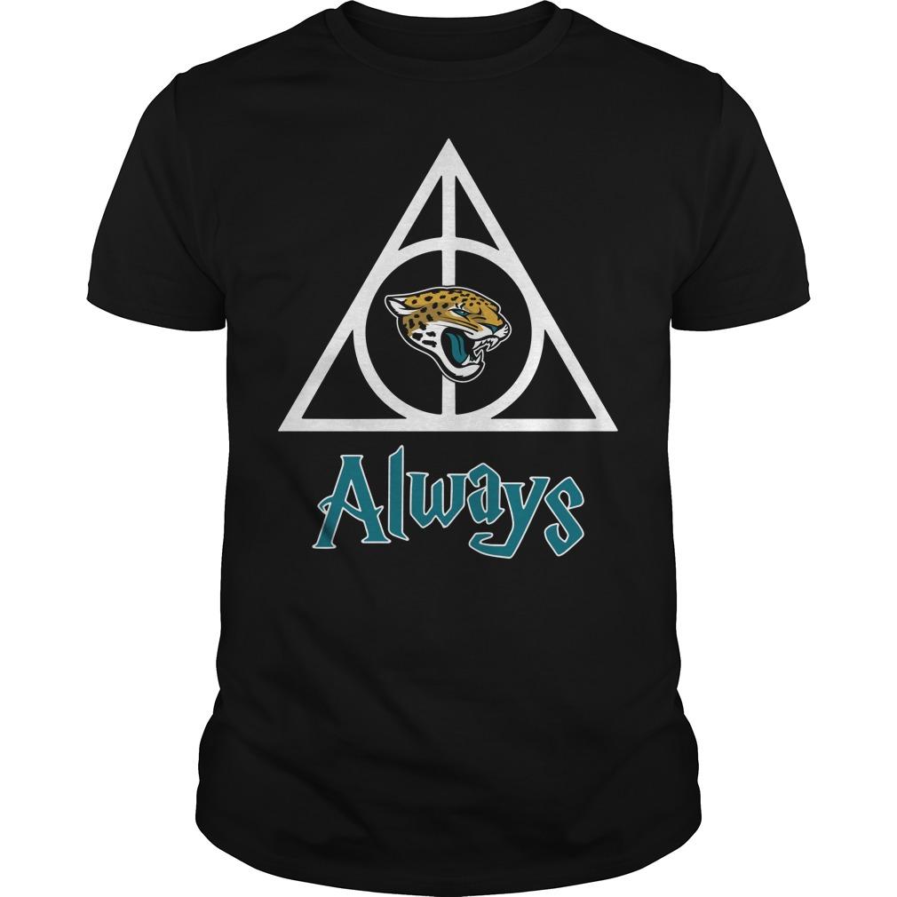 Jacksonville Jaguars Hallows always Harry Potter Guys Shirt