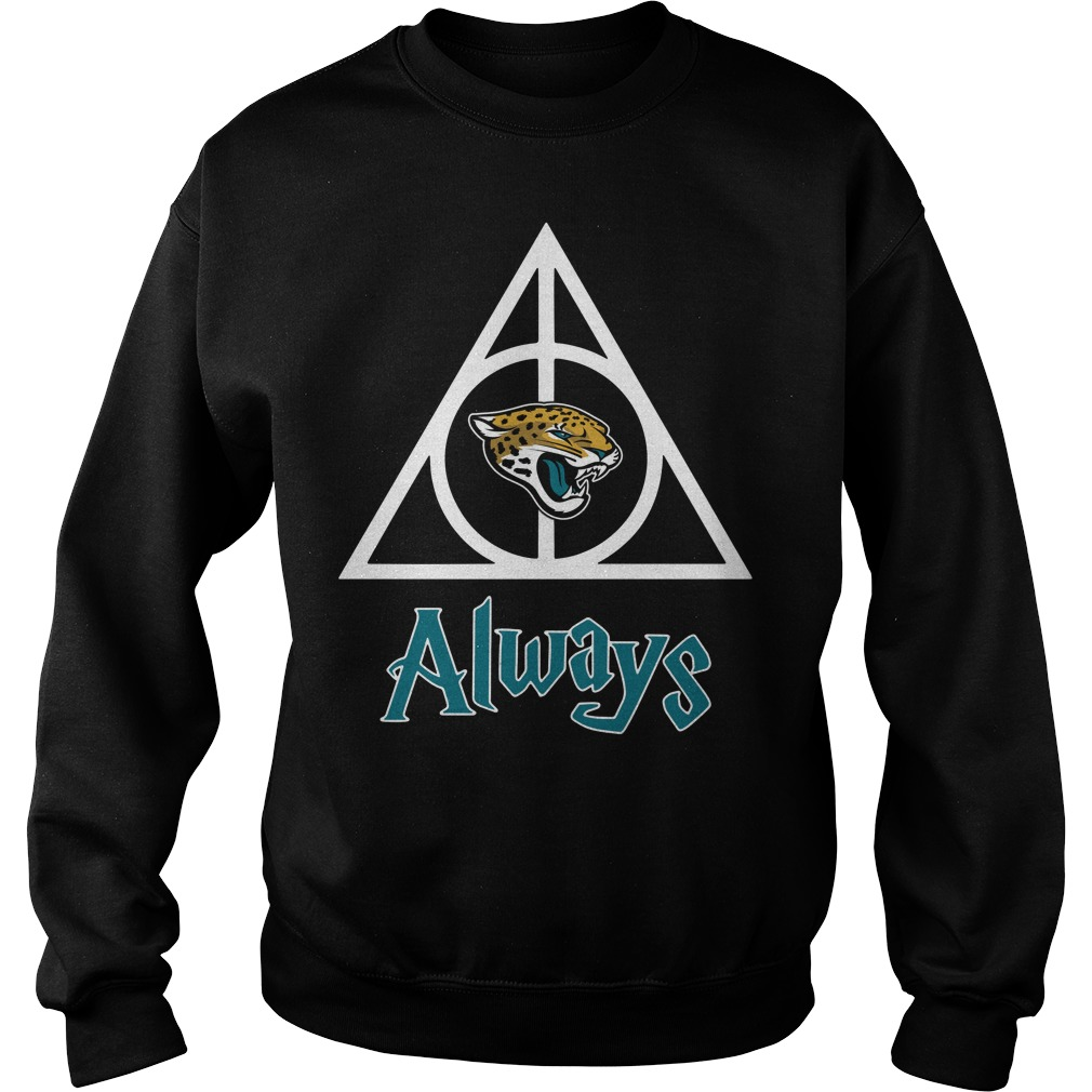 Jacksonville Jaguars Hallows always Harry Potter Sweater