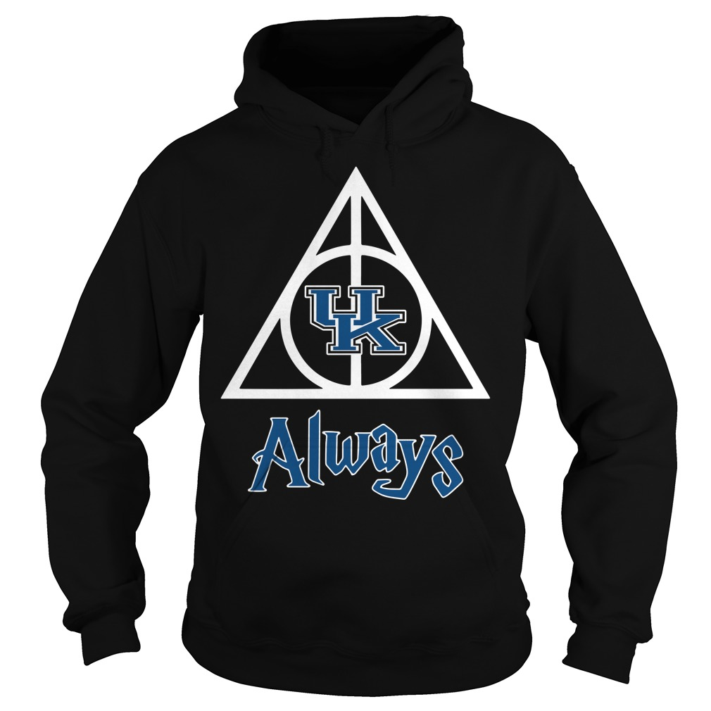 Kentucky Wildcats Deathly Hallows always Harry Potter Hoodie