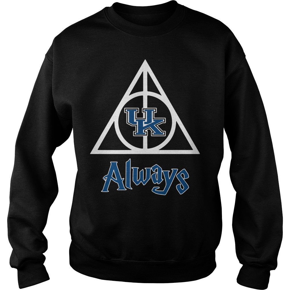 Kentucky Wildcats Deathly Hallows always Harry Potter Sweater