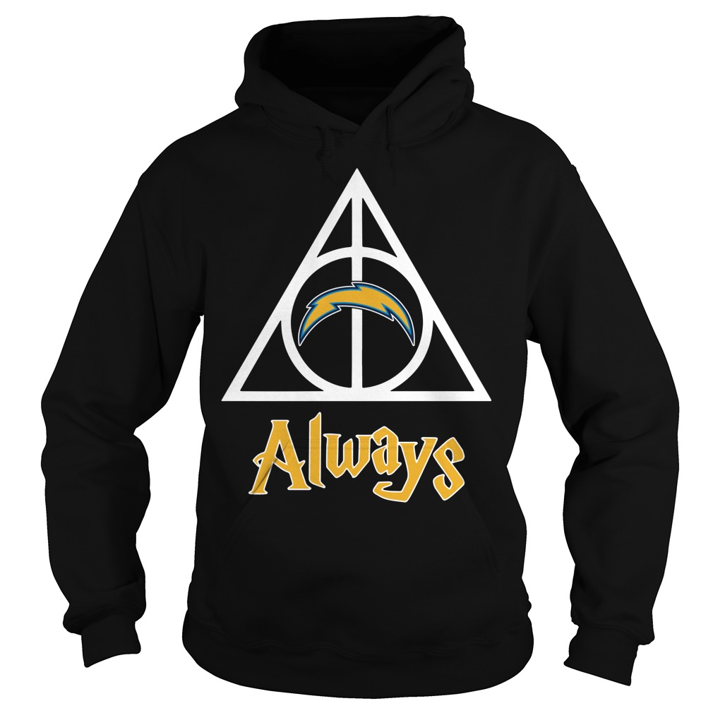 Los Angeles Chargers Deathly Hallows Always Harry Potter Hoodie