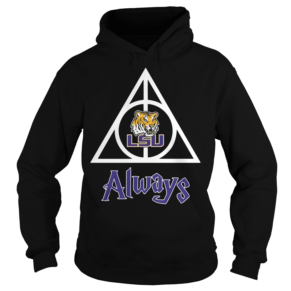 LSU Tigers Deathly Hallows always Harry Potter Hoodie