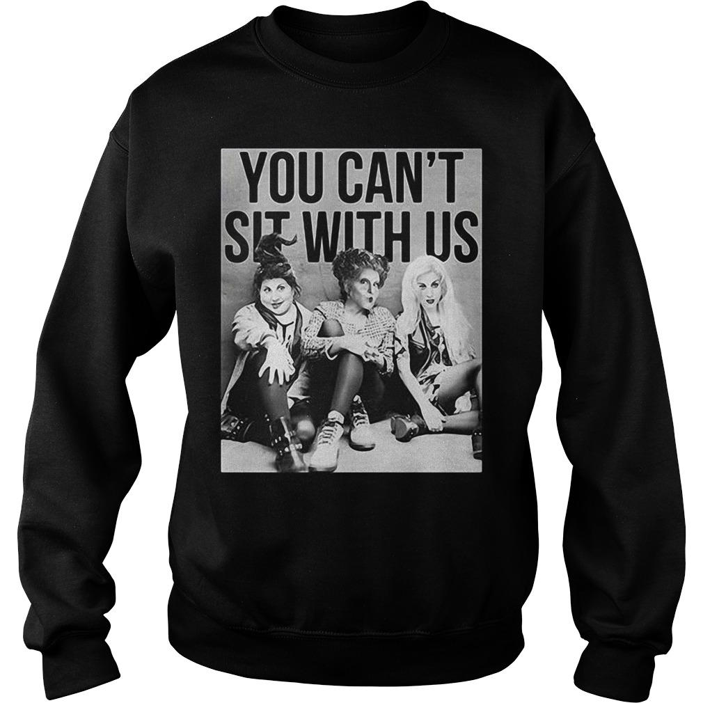 Lydia Deets Wednesday Adams and Nancy you can't sit with us Sweater