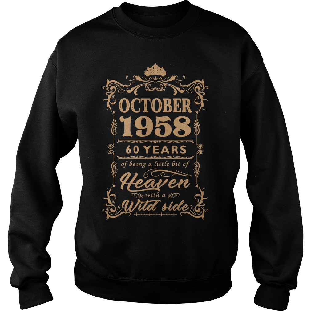 October 1958 60 years of being a little bit of heaven with a wild side Sweater