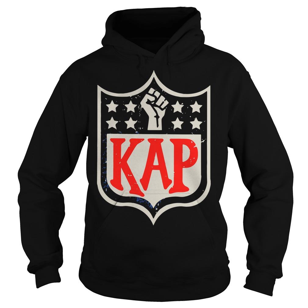 Official Colin Kaepernick Kap NFL shield Hoodie