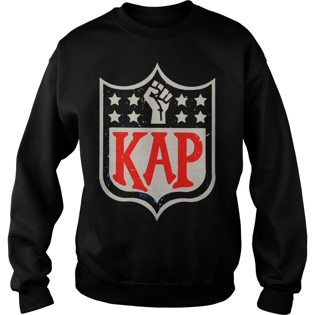Official Colin Kaepernick Kap NFL shield Sweater