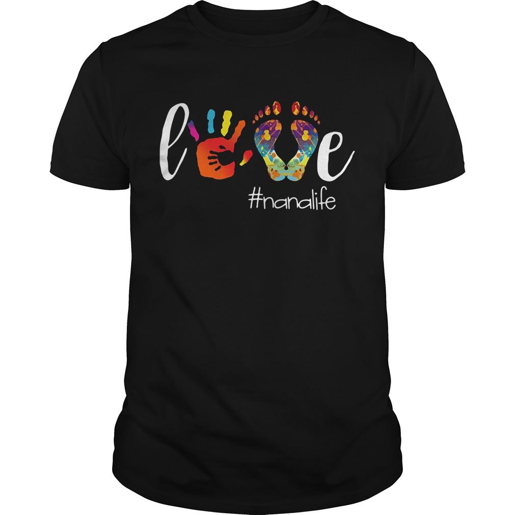 Official love Nanalife Guys Shirt