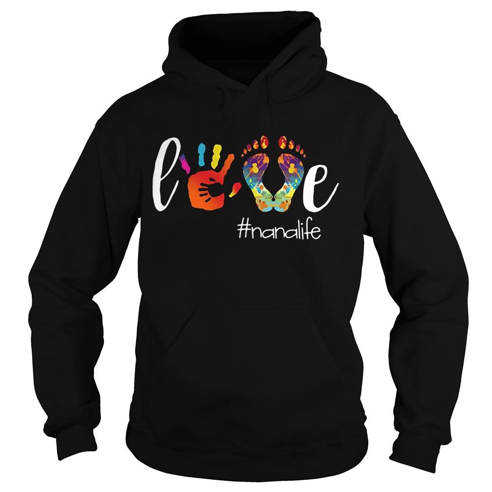 Official love Nanalife Hoodie
