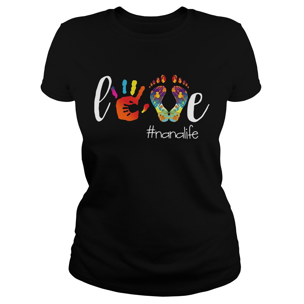 Official love Nanalife Ladies Tee