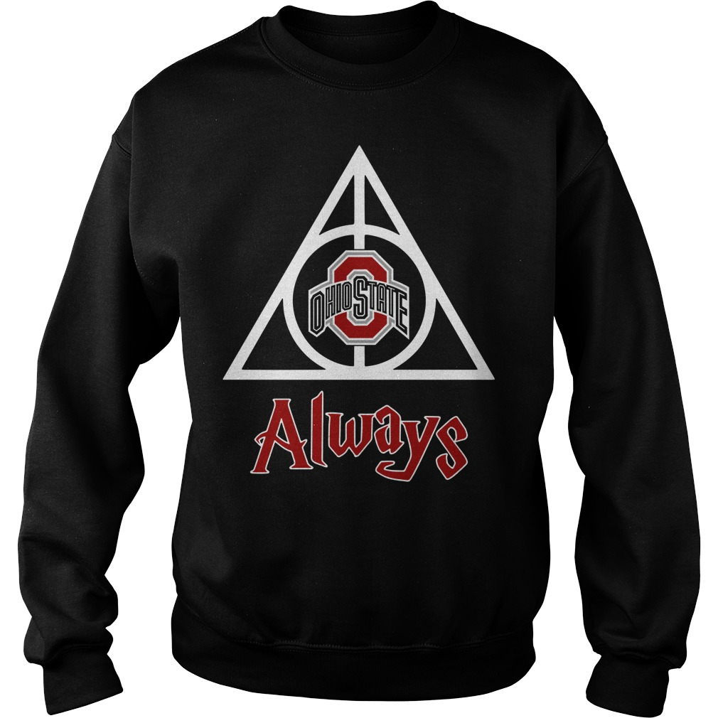 Ohio State Deathly Hallows Always Harry Potter Sweater