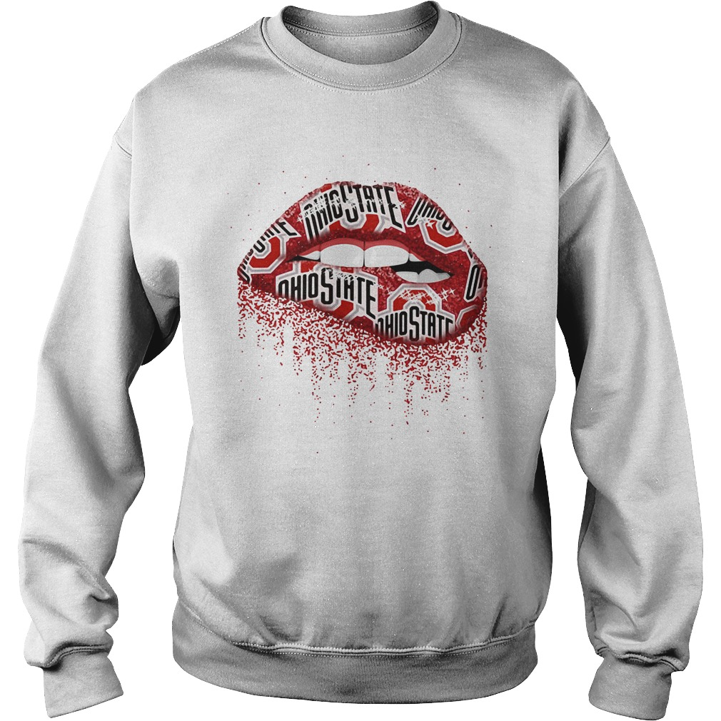 Ohio State lips Sweater