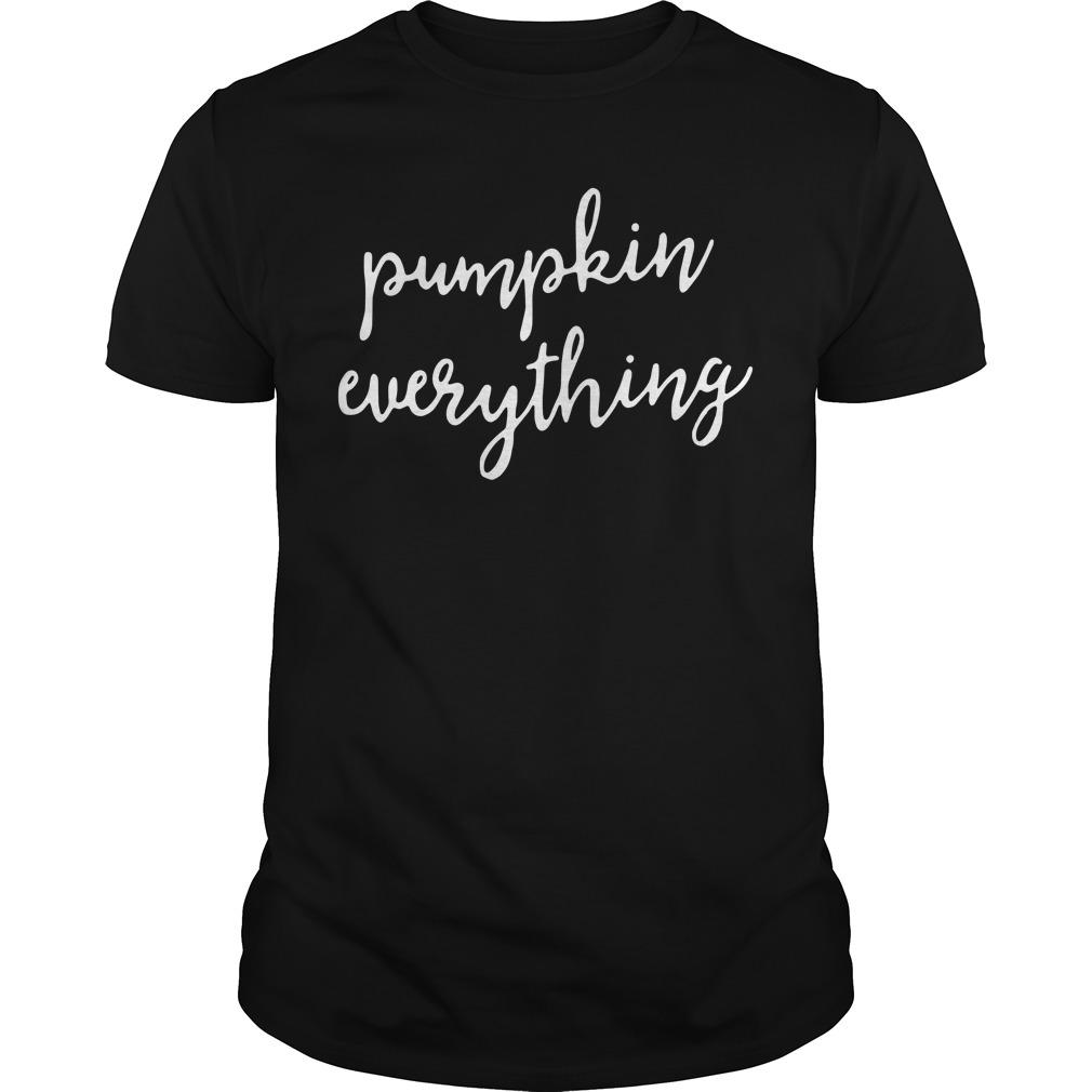 Pumpkin everything Guys Shirt