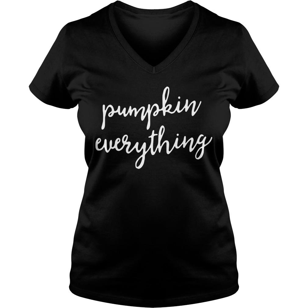 Pumpkin everything V-neck T-shirt