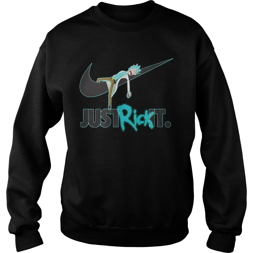 Rick and Morty Nike just rick it Sweater