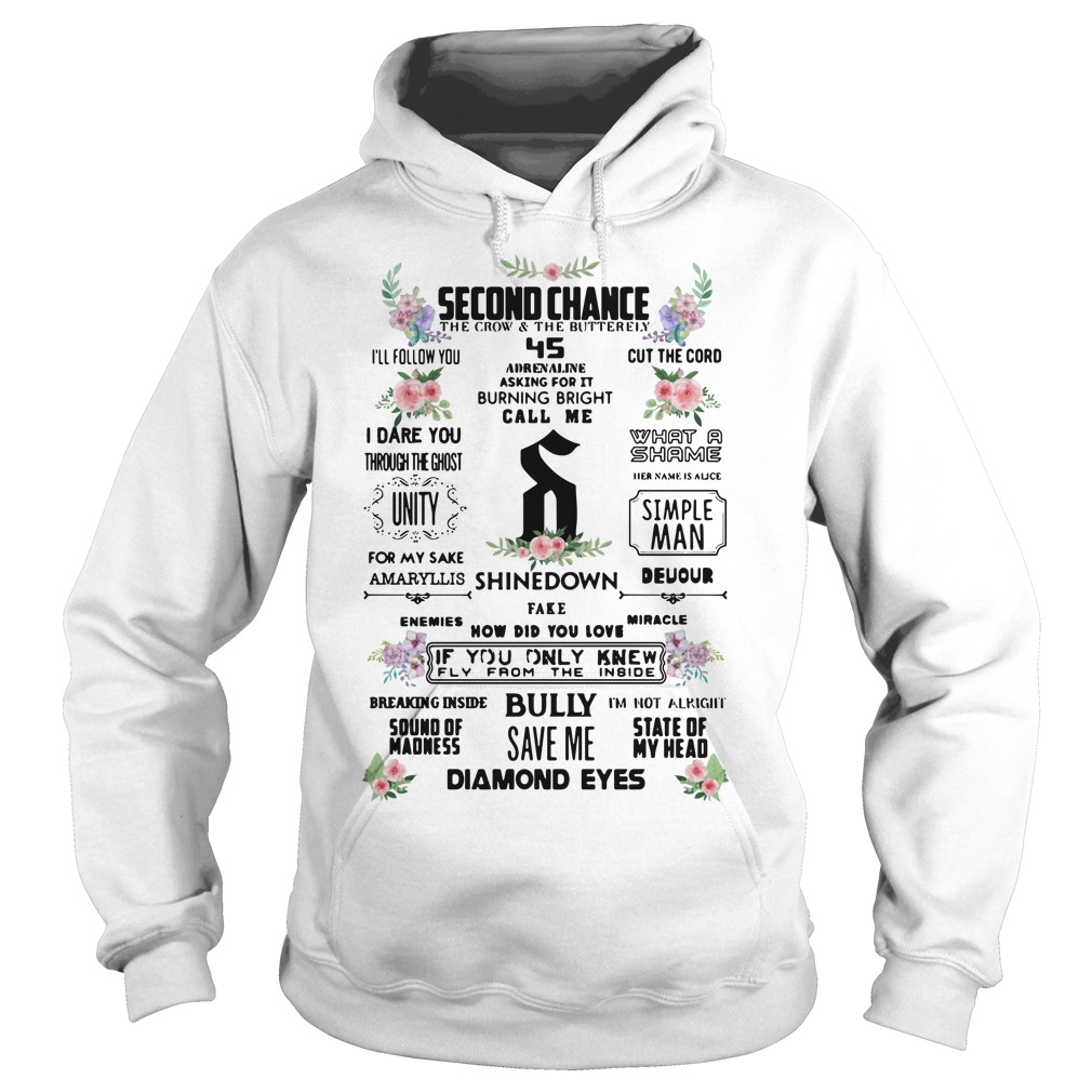 Second chance the crow and the butterfly I'll follow you Hoodie