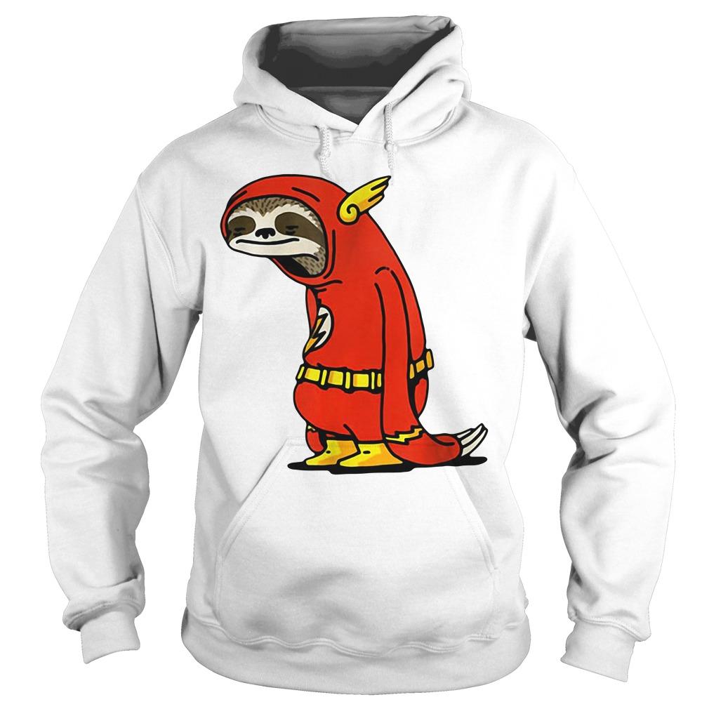 Sloth in flash Hoodie