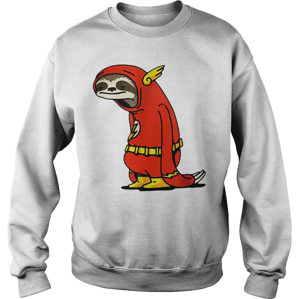 Sloth in flash Sweater
