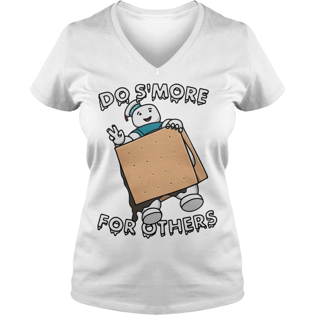Do s'more for others V-neck T-shirt