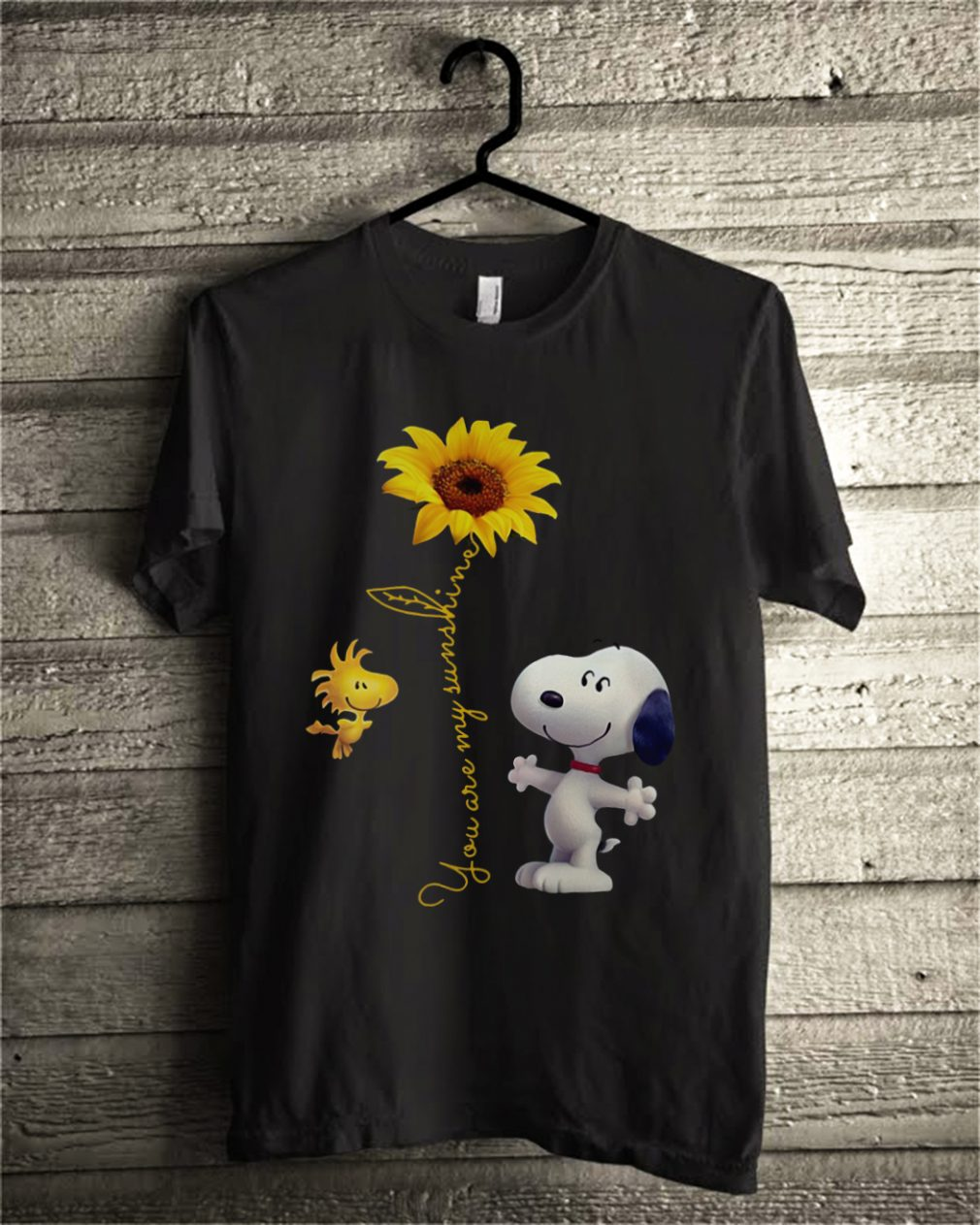 Snoopy and Woodstock you are my sunshine shirt