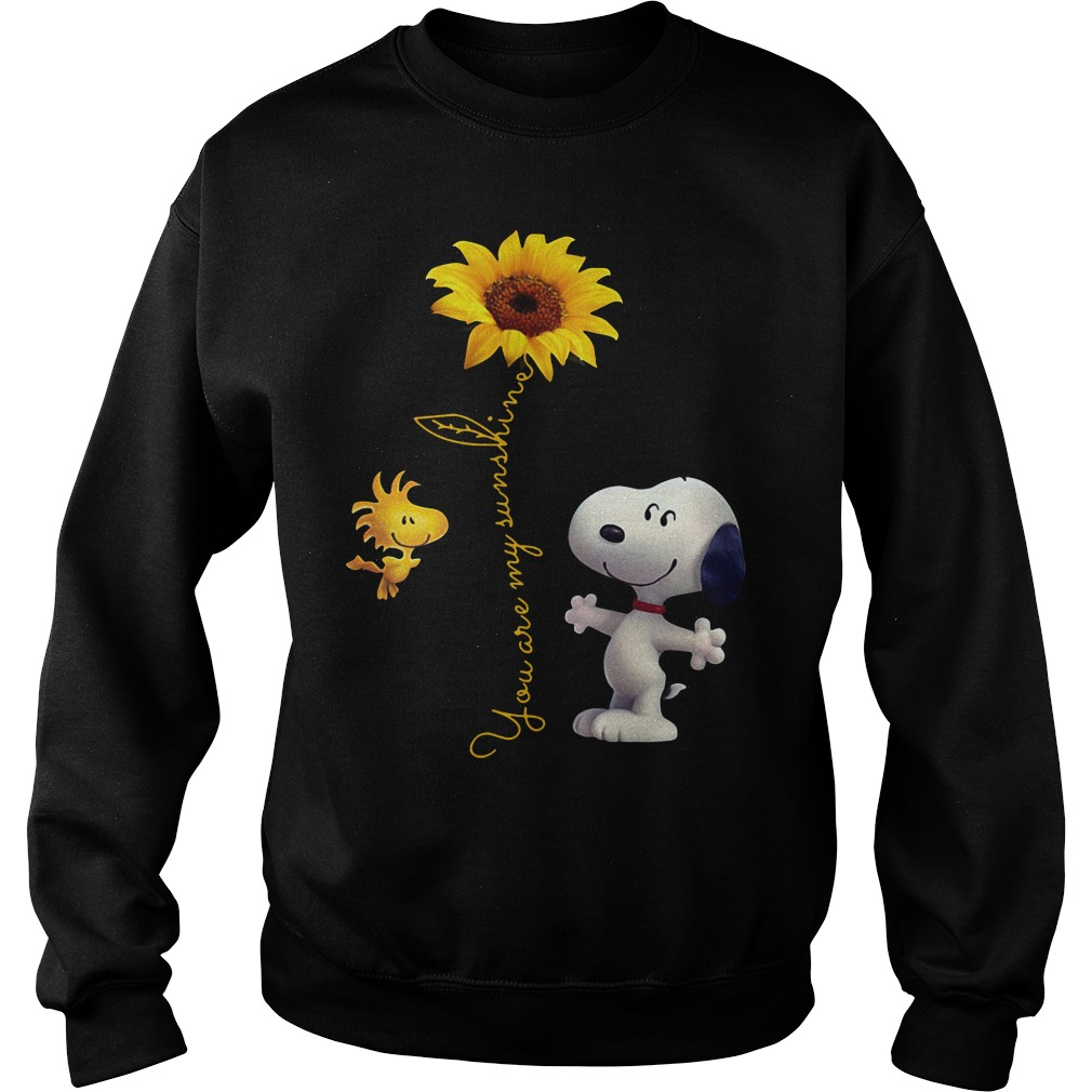 Snoopy and Woodstock you are my sunshine Sweater