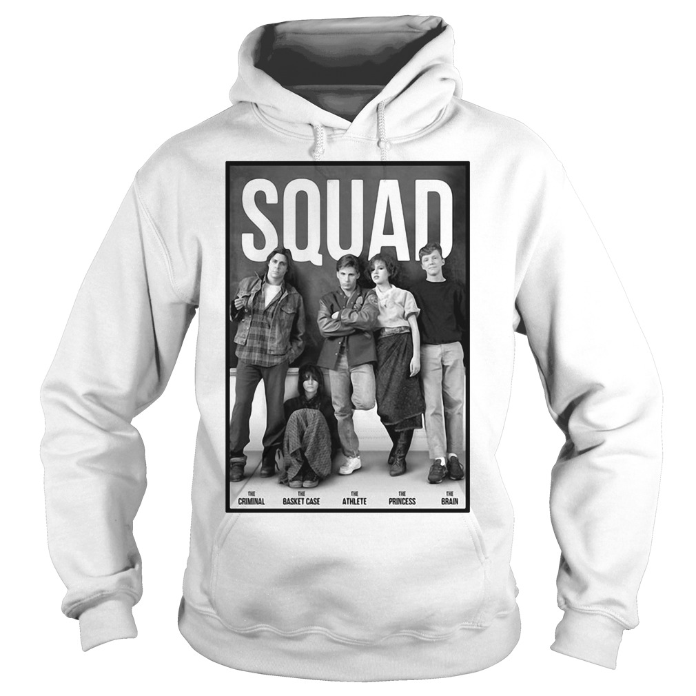 Squad Criminal Basket Athlete Case Princess and Brain Hoodie