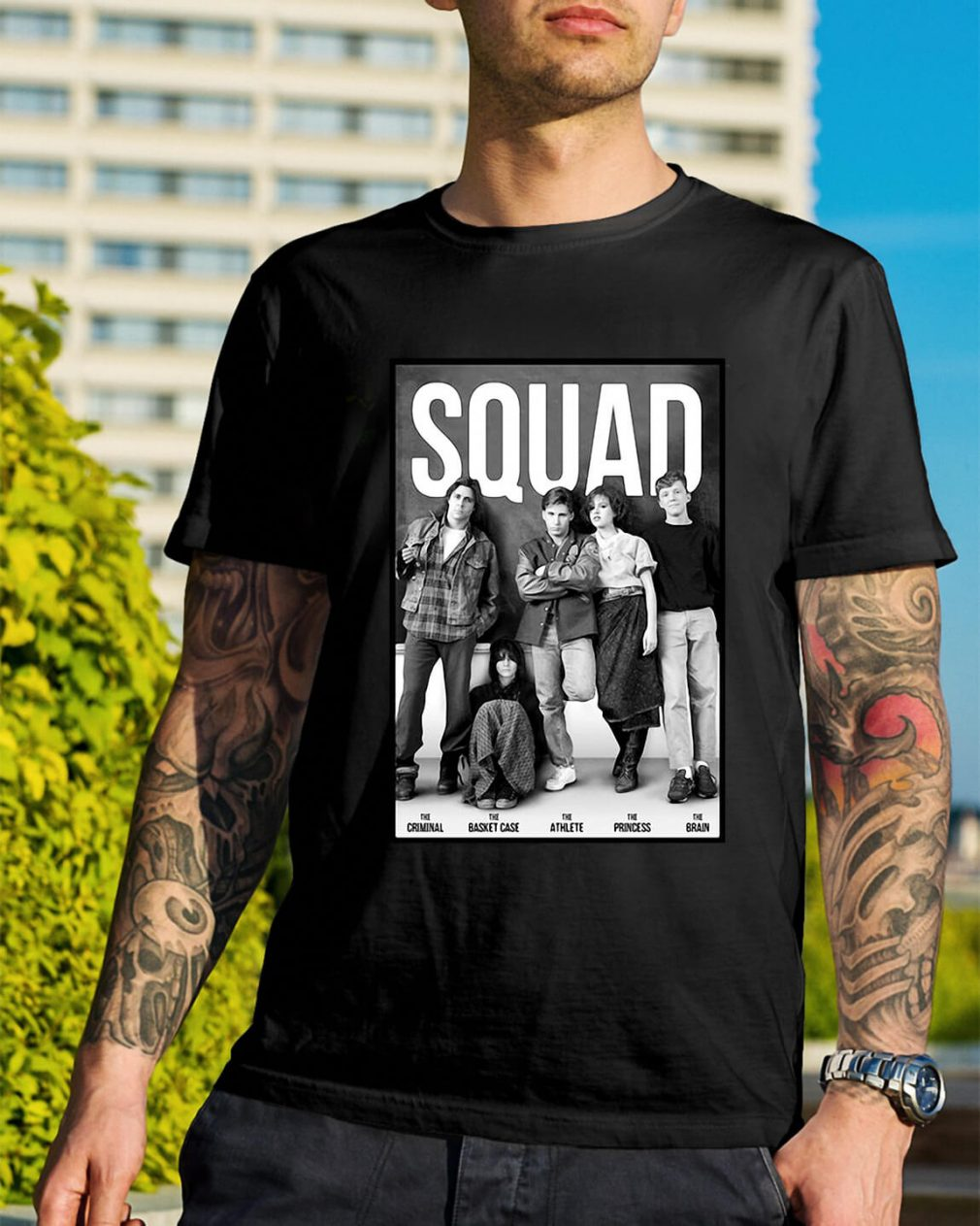 Squad Criminal Basket Athlete Case Princess and Brain shirt